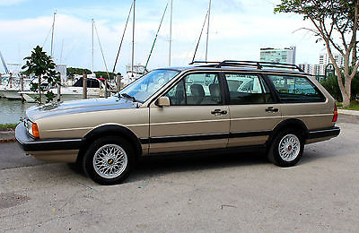 Volkswagen : Other Quantum GL5 Sport Wagon VERY RARE WITH ONLY 119K 2 OWNER MILES RUST FREE CA. CAR FULLY SORTED BBS WHEELS