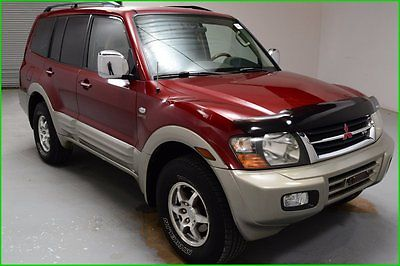 Mitsubishi : Montero Limited 4x4 SUV Sunroof 3rd Row Seat Leather seats FINANCING AVAILABLE!! 244k Miles Used 2001 Mitsubishi Montero Limited 4WD SUV