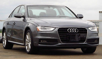 Audi : A4 Premium 2014 audi a 4 2.0 t fwd multitronic s line package