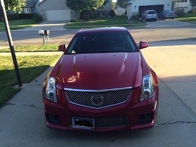 Cadillac : CTS V series 2011 cadillac cts v sedan 4 door 6.2 l