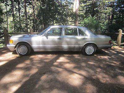 Mercedes-Benz : 500-Series 560SEL 1991 mercedes benz 560 sel base sedan 4 door 5.6 l classic collector car v 8