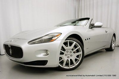 Maserati : Other 2011 maserati granturismo convertible 20 inch trident wheels low miles serviced
