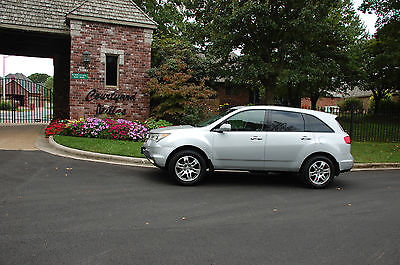 Acura : MDX AWD 4dr Tech Pkg ENTER PKG 2009 acura mdx awd tech pkg entpk nav rear camera 3 rd row heated seats moonroof