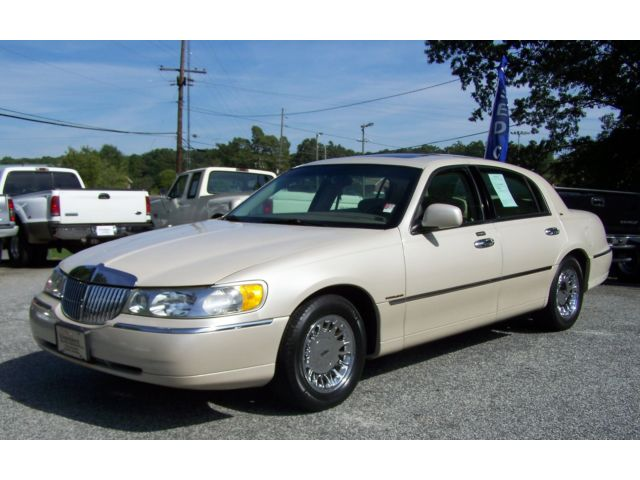 Lincoln : Town Car CARTIER 127k PERSONAL LIMO COMP CROWN VICTORIA P71 A-SHARP-GEORGIA-PEARL-TRI-COAT-MOONROOF-CHROME-WHEELS-COLD-AC-CD-NON-SIGNATURE