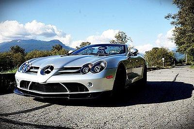 Mercedes-Benz : SLR McLaren 722S ROADSTER 2009 mercedes benz slr mclaren 722 s roadster