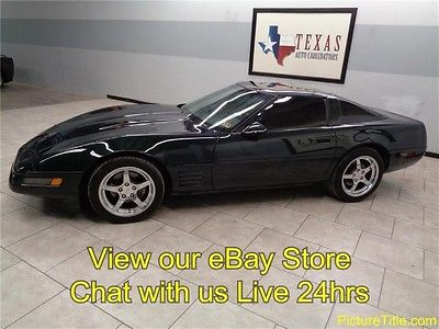Chevrolet : Corvette Targa 92 corvette targa top 82 k miles leather chrome wheels we finance texas
