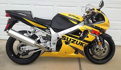 Suzuki : GSX-R 2002 suzuki gsxr 750 4200 original miles adult owned unmolested nice