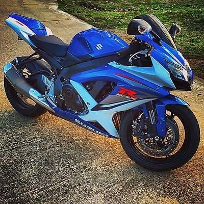 Suzuki : GSX-R 2009 suzuki gsx r 750 gixxer sport bike low mileage
