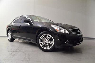 Infiniti : G 4dr x AWD 4 dr x awd low miles sedan automatic gasoline 2.5 l v 6 cyl