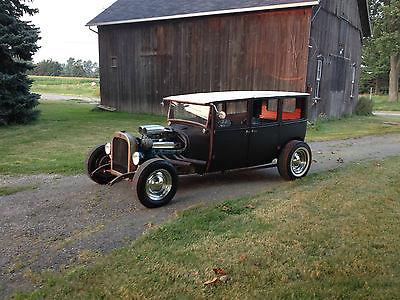 Dodge : Other Rat Rod 4 door 4 seater 1925 dodge brothers sedan rat rod buick big block custom shop built hot rod