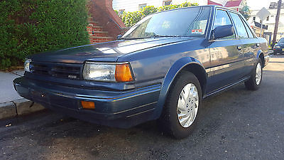 Nissan : Stanza GXE Sedan 4-Door 1989 nissan stanza gxe sedan 4 door 2.0 l low miles 69 k 1 owner clean title