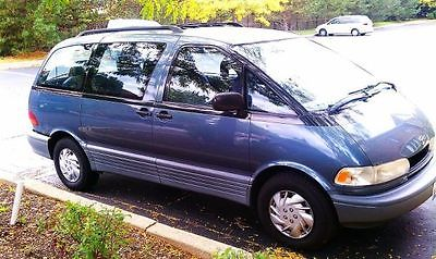 Toyota : Previa 5-Door 1992 toyota previa minivan with 331 000 miles many new parts daily driver