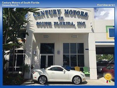 Lexus : SC NIADA CERTIFIED WARRANTY CLEAN CARFAX CONVERTIBLE NAV NIADA CERTIFIED CLEAN CAR-FAX CONVERTIBLE LEATHER MEMORY SEATS LEATHER RWD