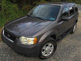 Ford : Escape XLT 4WD V6 - 1-OWNER - FORD SERVICE HISTORY 2004 gray xlt 4 wd v 6 1 owner ford service history