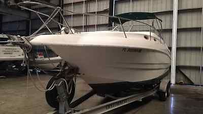 LARSON 254 CRUISER BOAT  MUST GO JUST REDUCED PRICE WE ACCEPT PAYPAL