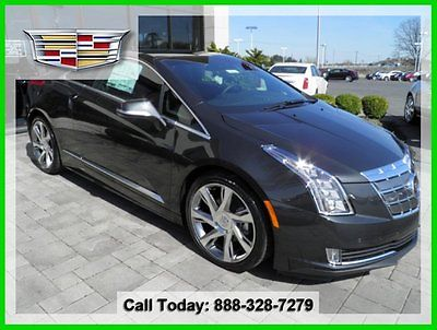 Cadillac : Other Base Coupe 2-Door MSRP 79825 New ELR Adaptive Cruise Control Auto Collision Prep Luxury Package