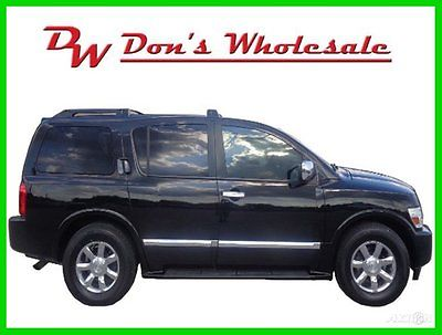 Infiniti : QX56 2WD 2004 2 wd used 5.6 l v 8 32 v automatic suv bose