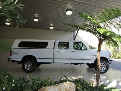 Ford : F-350 FreeShipping F-350 7.3L Diesel 4X4 Crew Cab Long Bed XLT Excellent Condition!LOW MILES~CAMPER