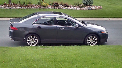 Acura : TSX Sedan 4-Door with tech package 2007 acura tsx 5 speed at with tech package