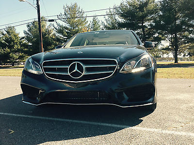 Mercedes-Benz : E-Class E350 Sport Package 4 matic sedan 321 sport package keyless go premium 1 package burl wood trim
