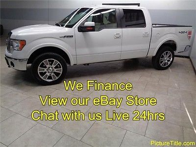Ford : F-150 Lariat 4WD Crew Leather Heat Cool Seats 10 f 150 lariat 4 x 4 crew leather heat cool seats warranty we finance texas