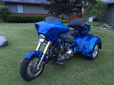 Custom Built Motorcycles : Other 2015 trike harley davidson softail roadsmith independent suspension 36 santee