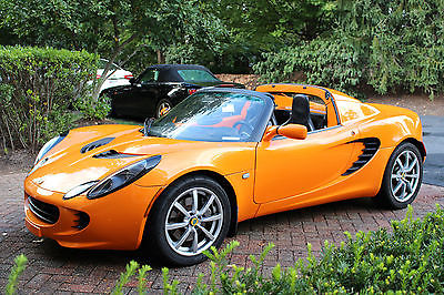 Lotus : Elise Base Convertible 2-Door Chrome Orange Lotus Elise - Touring Package - Factory Hardtop - One Owner