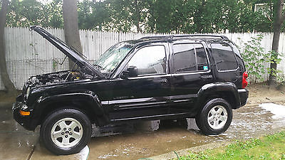 Jeep : Liberty Limited Sport Utility 4-Door 2002 jeep liberty limited sport utility 4 door 3.7 l