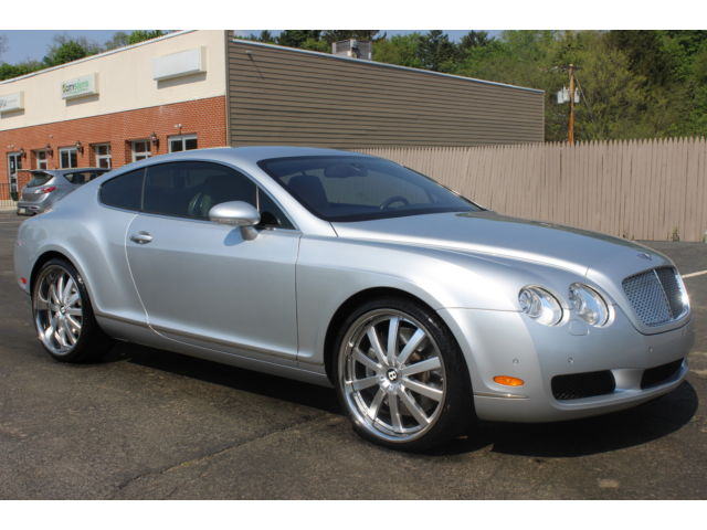 Bentley : Other 2dr Cpe GT 2004 bentley continental gt coupe regular service new brakes pa inspected clean