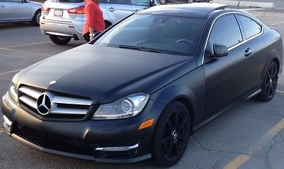 Mercedes-Benz : C-Class Edition 1 RARE 2012 Mercedes-Benz C350 EXCLUSIVE EDITION 1