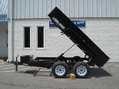 '15 Bri-Mar 6x10 Dump Trailer 10k Rascal Series New DTR610LP-10