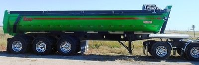 2016 Renn Tri Axle Air Ride End Dump BRAND NEW SL300