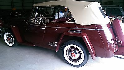 Willys : Willys Jeepster Phaeton convertible 1948 willys jeepster phaeton 1 owner first time for sale outside family estate