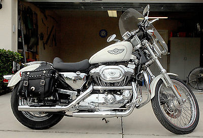 2003 Harley Sportster Blue Motorcycles For Sale