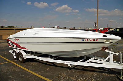 2000 Baja H2X 24' Powerboat, Fresh Water, 385 Horsepower, Cabin, With Trailer!