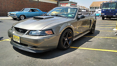 Ford : Mustang GT 2002 supercharged mustang gt convertible 6 spd