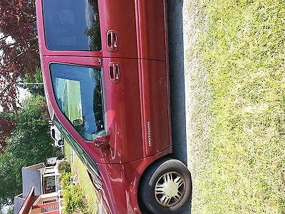 Chevrolet : Venture 4 door minivan Maroon 2003 Chevy Venture minivan