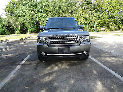 Land Rover : Range Rover Supercharged 2011 land rover rang rover supercharged