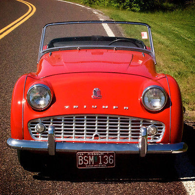 Triumph Tr3 Cars For Sale