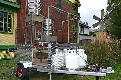 Mobile Portable Trailer Mounted 50 Liter, Home, Craft, Brewery, Brewing System