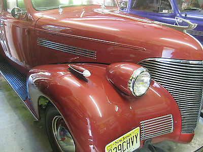 Chevrolet : Other Master Deluxe 1939 chevrolet master deluxe 4 dr sedan authentic restoration