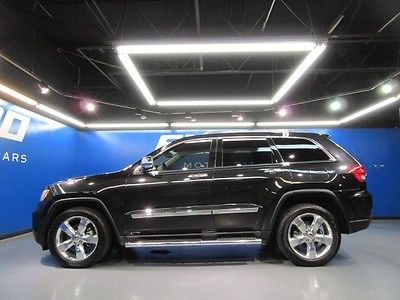Jeep : Grand Cherokee Overland Jeep Grand Overland 2WD Cooled Heated Seats Nav Cam Pano Roof Xenon