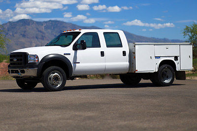 Ford : Other Pickups MONEY BACK GUARANTEE 2007 ford f 550 diesel 4 x 4 crew cab utility work 4 wd f 550 inspected in ad