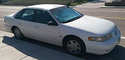 Ford : Taurus SHO Sedan 4-Door White 1994 Taurus SHO in good mechanical condition for sale