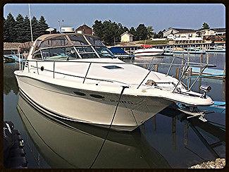 99 Sea Ray Boat Luxury Cabin Big Block Twin Cruiser WMS Power White Fresh Water