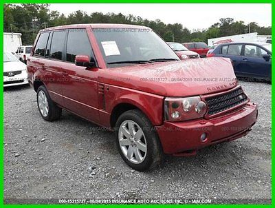 Land Rover : Range Rover 4dr Wgn HSE 2006 4 dr wgn hse used 4.4 l v 8 32 v automatic 4 wd suv premium