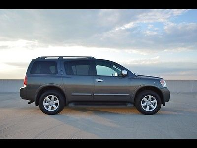 2012 nissan armada gray cars for sale. Black Bedroom Furniture Sets. Home Design Ideas