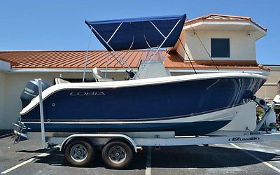 2014 Cobia 201 Center Console Boat Like New 18 hours Garmin Electronics!!!