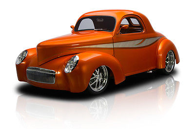 Willys : Coupe Award Winning Frame Off Built Willys Coupe 555 V8 TH400 Ford 9