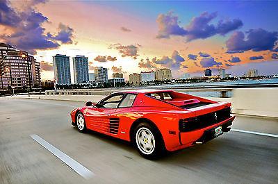 Ferrari : Testarossa Ferrari Testarossa